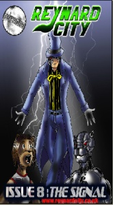 Issue 8 The Signal (Art by Samuel Webster)