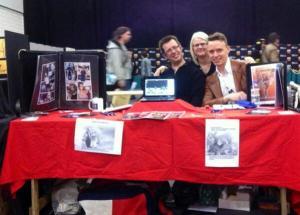 Susie Gander, Dan Butcher and Will Turner at London MCM