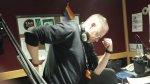 Host Richard Maun strikes a pose