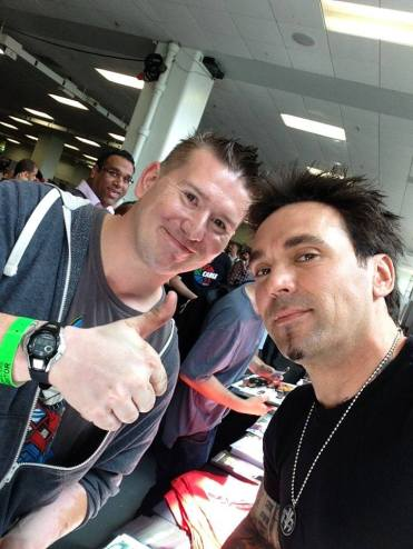 Jason David Frank aka the Green Ranger. Really treated the fans with respect and allround top chap.