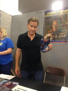 Character actor extraordinaire James Remar. Reckon he'd be a great Sensei Mike.