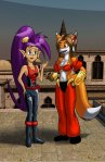 AK Girl/Shantae Clothes Swap by Nicholas Webb